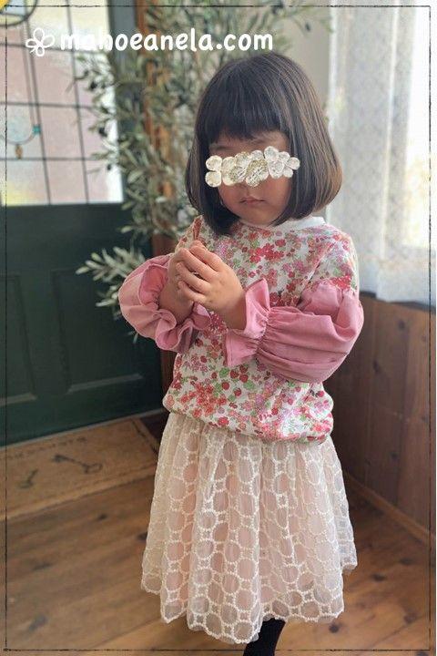 姉妹お揃い 手作り 子供服 ジュニア 型紙