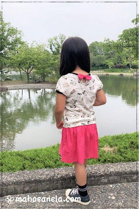 Tシャツワンピ 子供服 型紙 手作り ハンドメイド