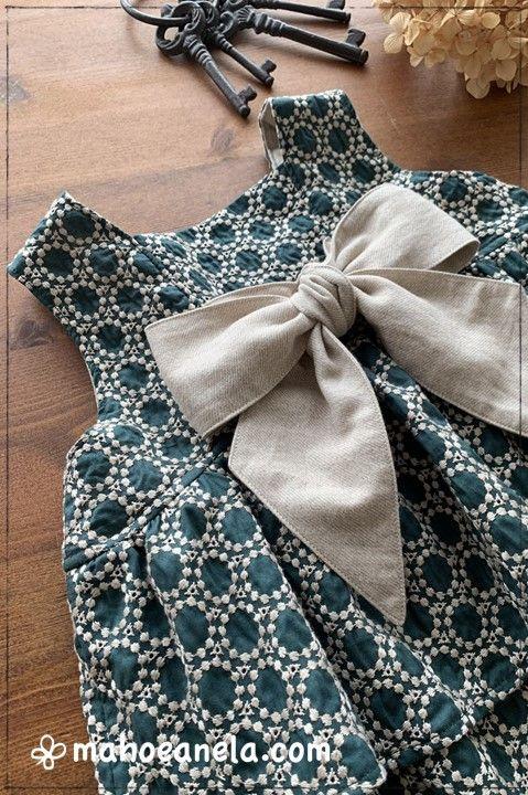 リゾートワンピース 型紙 子供服 ジュニア 姉妹ペア 手作り ハンドメイド