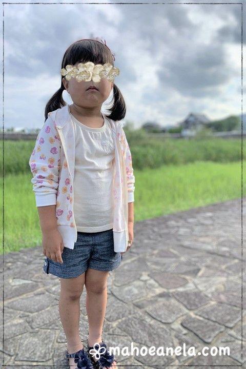 ジップアップ パーカー 子供服 型紙 姉妹ペア 手作り ハンドメイド
