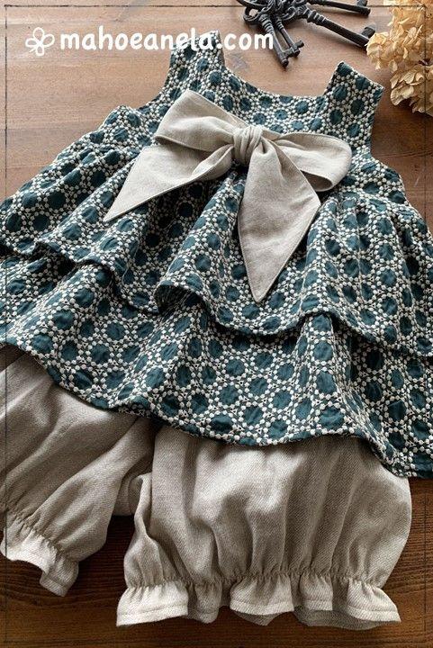コロンパンツ 型紙 子供服 手作り ハンドメイド