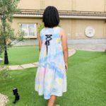 リゾートワンピース ジュニア 子供服 型紙 バックリボン 手作り ハンドメイド 姉妹ペア
