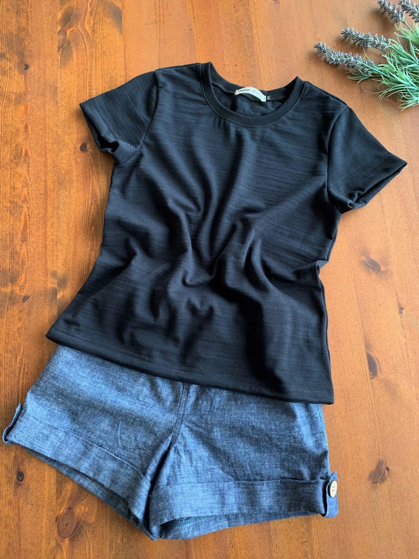 ジュニア 型紙 丸首Tシャツ