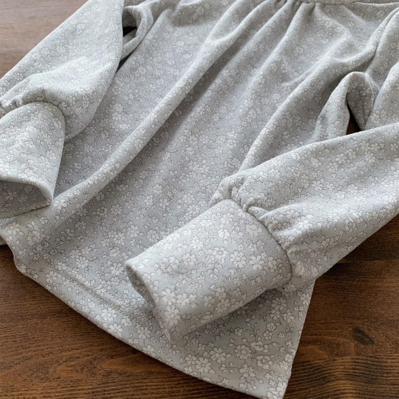 タートルネック 可愛い 子供服 型紙