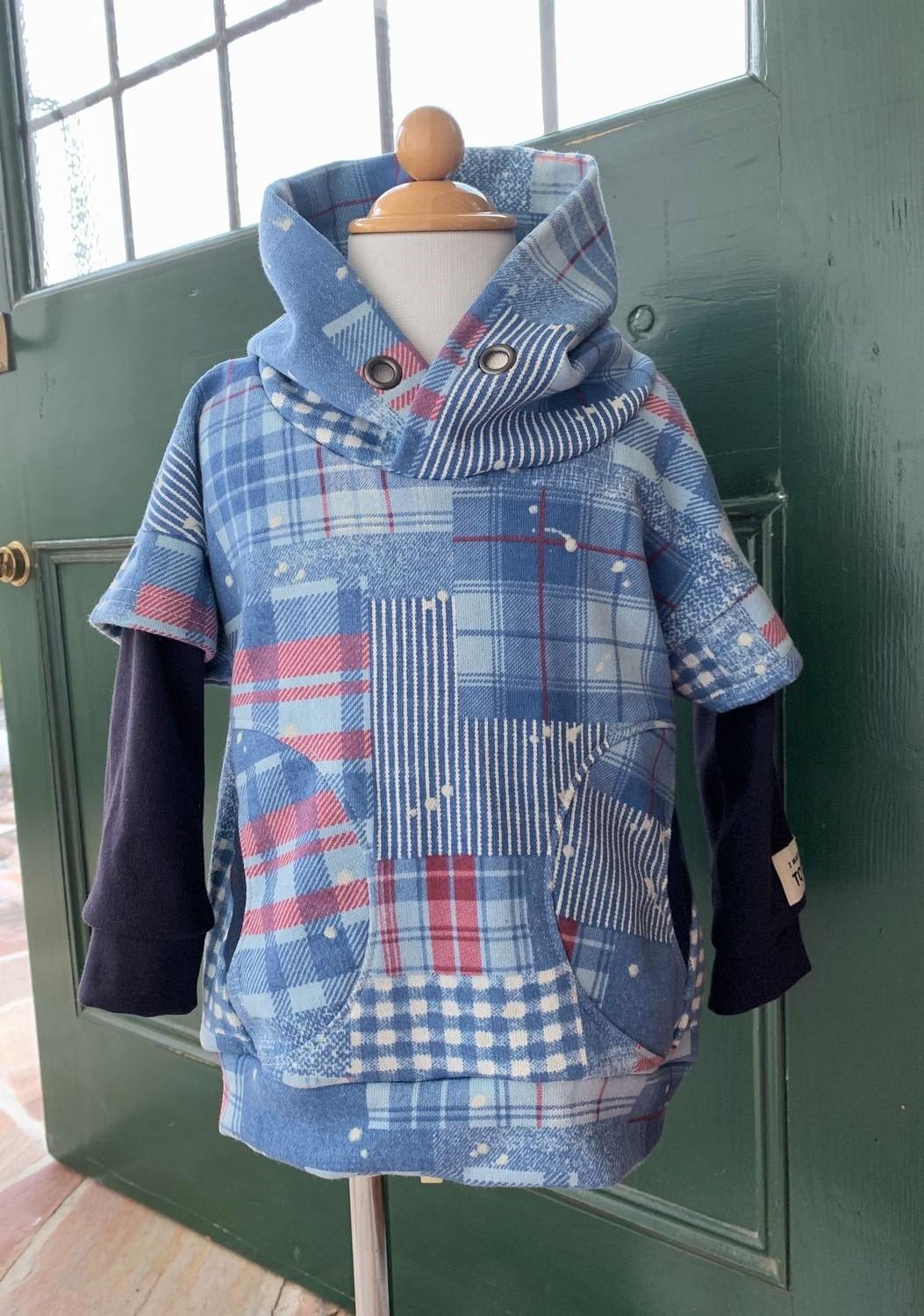 子供服 型紙 ゆるプル