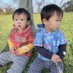 子供服 型紙 ゆるプル 双子コーデ