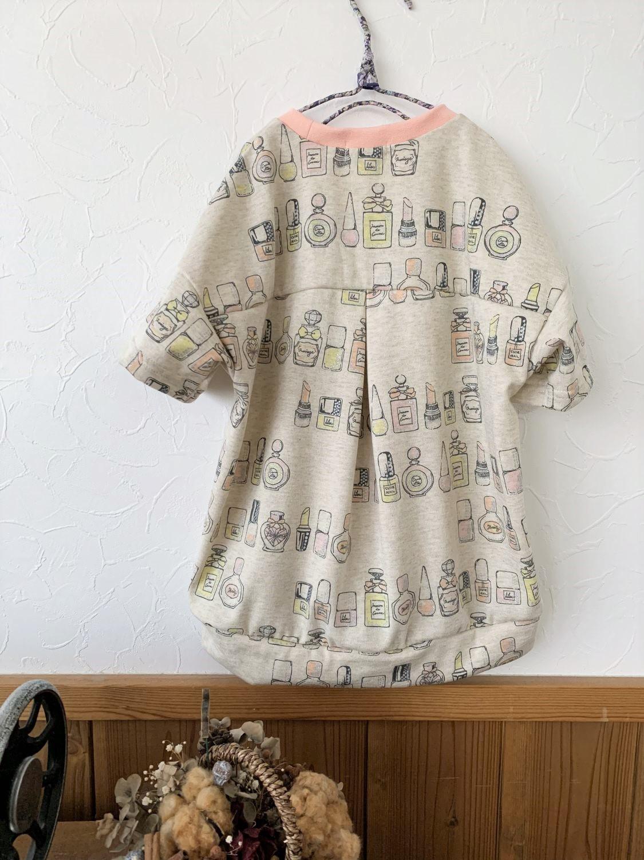 puriri cosmetics ゆるプル 半袖 型紙 子供服 手作り ハンドメイド