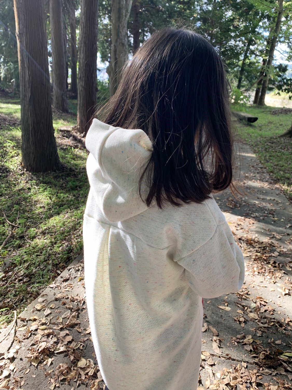 子供服 型紙 ゆるプル トレーナーワンピース